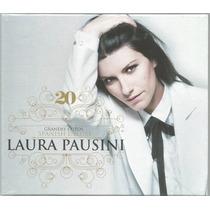 Cd Laura Pausini 20 Grandes Éxitos (spanish Deluxe 3cd+ Dvd)