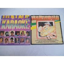 * Lote Vinil Lp - Karaoke - Mpb - Com 10 Discos