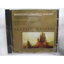 Cd Classic Masters - Amadeus Mozart / Lacrado Frete Gratis