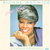 Lp Dionne Warwick - With Love - 1982 - Som Livre