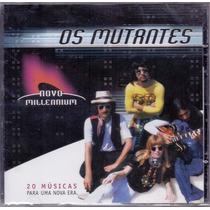 Cd Os Mutantes - Novo Millennium - Novo***
