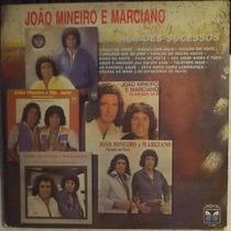 Lp / Vinil Sertanejo: João Mineiro E Marciano, Sucessos 1987