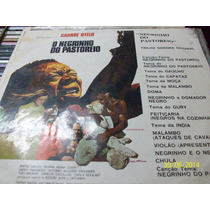 Lp Vinil Do Filme O Negrinho Do Pastoreiro. De 1973.