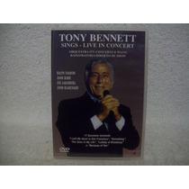 Dvd Original Tony Bennett- Sings- Live In Concert