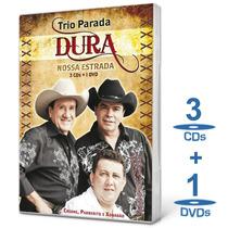 Box Trio Parada Dura - Nossa Estrada - Novo - Lacrado