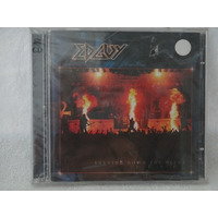 Cd - Edguy - Burning Down The Opera - Live - Duplo