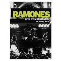 Dvd Ramones Live At Musikladen 1978 - Lacrado Novo