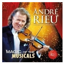 André Rieu - Magic Of The Musicals - Blu Ray Importado, Lacr