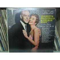 Lp Jeanette Macdonald & Nelson Eddy Canções Famosas Em Hi