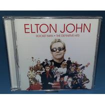 Elton John - Cd Rocket Man - Coletânea 18 Músicas - Nacional