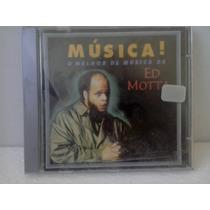 Cd Ed Motta - Musica - O Melhor De Ed Motta