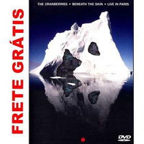 Cranberries -beneath The Skin-live In Paris Dvd Novo Raro
