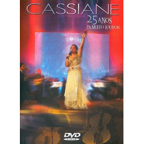 Dvd Cassiane - 25 Anos De Muito Louvor * Original