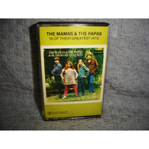 Fita K7 Original The Mamas & The Papas 16 Greates Hits