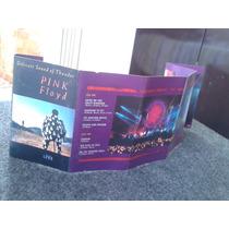 Fita K7 Pink Floyd - Delicate Sound Of Thunder Live 1988 Imp