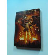 Dvd Duplo Rush - In Rio (2003) C/ Slipcase + Mini Poster