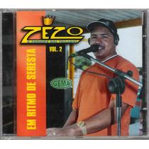 Cd Zezo O Príncipe Dos Teclados Vol 2