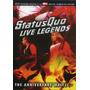 Dvd-status Quo-live Legends-em Otimo Estado