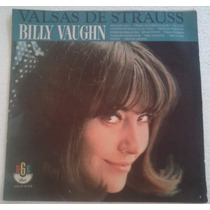 Lp Billy Vaughn Valsas De Strauss Rge Dot