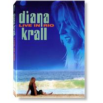 Diana Krall Live In Rio Dvd Lacrado Original Jazz Music