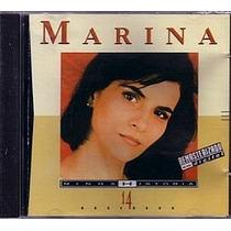 Cd Marina Lima - Minha Historia (usado/otimo)