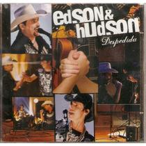 Cd Edson & Hudson - Despedida - Novo***
