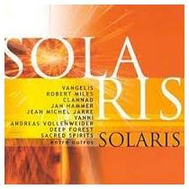 Cd Solaris - Vangelis, Jean Michel Jarre, Deep Forest Etc.