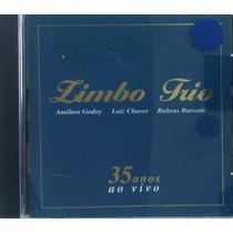 Cd Zimbo Trio - 35 Anos Ao Vivo - Amilton, Luiz, Rubens