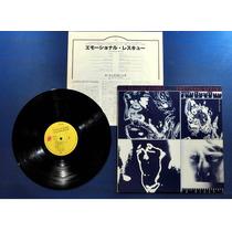 Lp Rolling Stones - Emotional Rescue - Imp. Japão Excelente