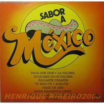 Sabor A México Lp Col Musica Latina Ramoncito Gomes Pancho