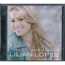 Cd Lilian Lopes - Vento De Adoração [original]