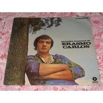 Lp Erasmo Carlos - Grandes Sucessos Vol. 1 Excelente !!!