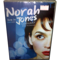 Dvd Norah Jones Novo = Live In Germany 2012 Ao Vivo Lacrado!