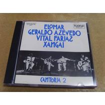 Cantoria 2 Elomar Geraldo Azevedo Vital Farias Xangai Cd