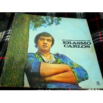Lp Os Grandes Sucessos De Erasmo Carlos - Ed. 1988