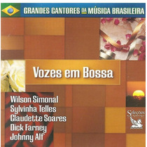 Cd Vozes Em Bossa (3 Cds) - Dick Farney E Johnny Alf