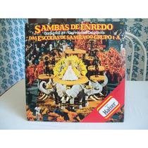 Lp. Samba Enredo Rio Carnaval 89 Com Encarte .