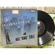 Nat King Cole Canções Inesqueciveis Lp Capitol 10p