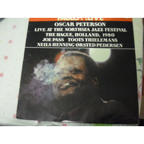 Lp Oscar Peterson Live At Northsea Jazz Festival 2 Lps -1980
