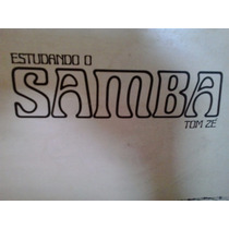 Vinil Super Raridade - Lp Tom Zé Estudando O Samba