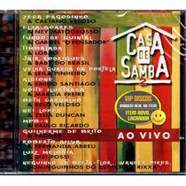 Cd Casa De Samba 2 Com Beth Carvalho Alcione Novo Lacrado