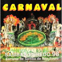 Cd / Sambas Enredo Carnaval 1998 São Paulo