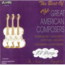 Cd / 101 Strings Orchestra (101 Cordas) = Best American Comp
