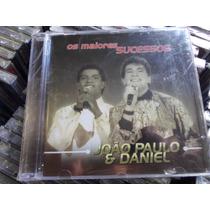 Cd João Paulo & Daniel / Os Maiores Sucessos / Frete Gratis