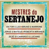 Cd Mestres Do Sertanejo - 2014 Victor E Leo, Bruno E Marrone
