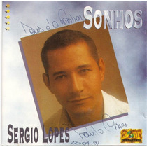 Cd Sergio Lopes Original Antigo Usado