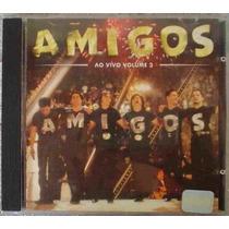 Cd Amigos - Ao Vivo Vol 3 -1998 -zezé/leonardo/xororó