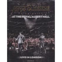 Dvd+cd Jorge E Mateus - Live In London - Lacrado_f/grátis