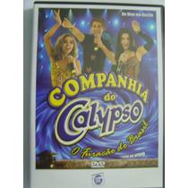 Dvd Companhia Do Calypso Ao Vivo Em Recife * Frete Grátis *