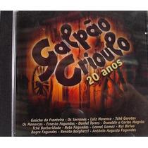 Cd - Galpão Criolo - 20 Anos
